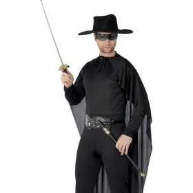 Rapier Sword And Eyemask - Fancy Dress Mens (Cowboys/Indians)