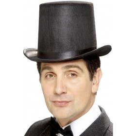 Stovepipe Topper Hat - Fancy Dress Mens