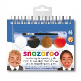 2 Step Booklet Moustaches Beards & Tashes