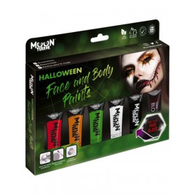 Moon Terror Halloween Face and Body Paint Assorted