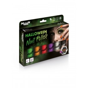 Moon Terror Halloween Nail Polish Assorted