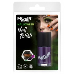 Moon Terror Halloween Nail Polish Purple
