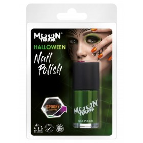 Moon Terror Halloween Nail Polish Green