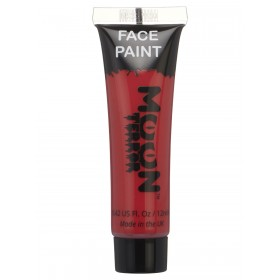 Moon Terror Halloween Face & Body Paint Red