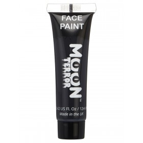 Moon Terror Halloween Face & Body Paint Black