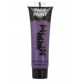 Moon Terror Halloween Face & Body Paint Purple