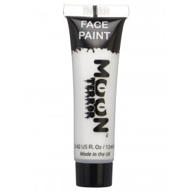 Moon Terror Halloween Face & Body Paint White
