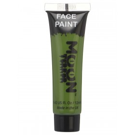 Moon Terror Halloween Face & Body Paint Green