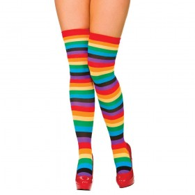 Thigh Highs - Rainbow Stockings (Pride)