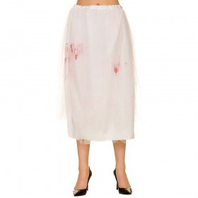Zombie Bride Skirt w/ Blood Accessory