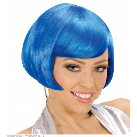Valentina Wig - Blue - Fancy Dress Ladies