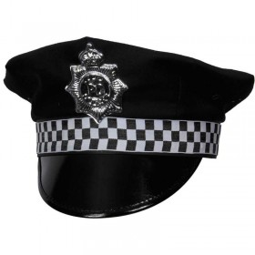 Police Hat Fancy Dress (Cops/Robbers)
