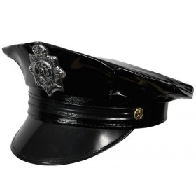 Deluxe Cop Hat Fancy Dress (Cops/Robbers)
