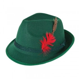 Mens Bavarian Beer Guy Hat Hats - (Green)