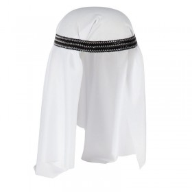 Mens Arab Hat Hats - (White)