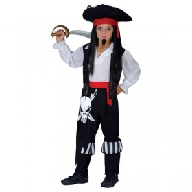 Captain Blackheart Fancy Dress Costume Boys (Pirates)