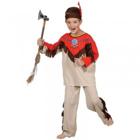 Boys Native Indian Costume Fancy Dress (Cowboys/Indians)