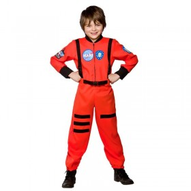 Boys Mission To Mars Sci-Fi Outfit - (Orange)