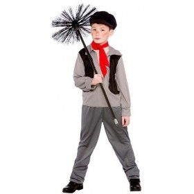 Boy'S Victorian Chimney Sweep Fancy Dress Costume