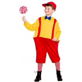 Boy'S Tweedle Storybook Twin Fancy Dress Costume