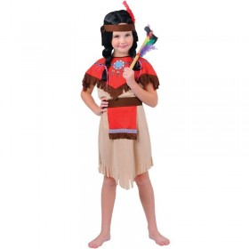 Native Indian Girl Fancy Dress Costume Girls (Cowboys/Indians)