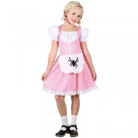 Girls Storybook Miss Muffet Costume (Fairy Tales)
