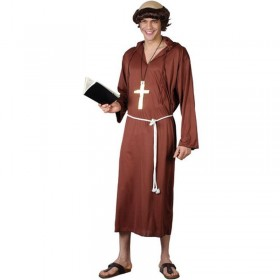 Monk Of The Abbey Fancy Dress Costume Mens (Vicars/Nuns)