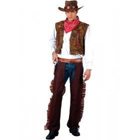 Western Cowboy Fancy Dress Costume Mens (Cowboys/Native Americans)