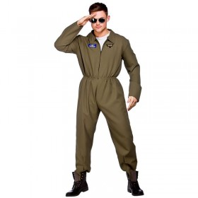 Mens Top Shot Pilot Pilot/Air Outfit (Green)