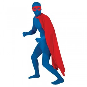 Mens Superhero Cape Film Costume