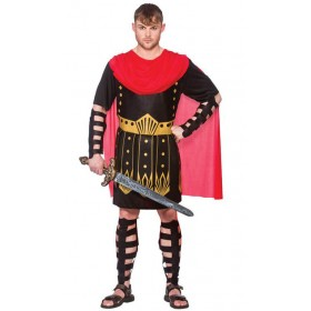 Mens Ancient Roman Warrior Fancy Dress Costume