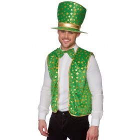 Adult St Patricks Set Fancy Dress Costume