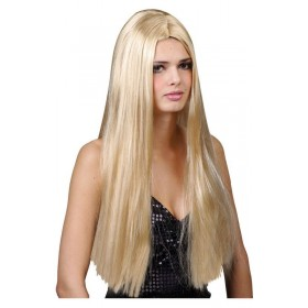 Classic Long Blonde Wig - Fancy Dress Ladies