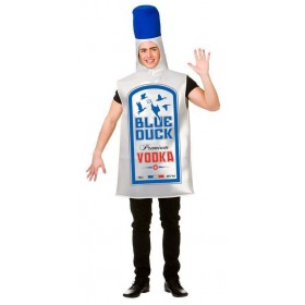 Adults Blue Duck Vodka Stag/Hen/Party/Fun Run Fancy Dress Costume