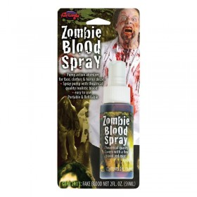 Zombie Blood Spray 2 Oz Bottle Fancy Dress