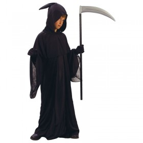 Grim Reaper Fancy Dress Costume Boys (Halloween)