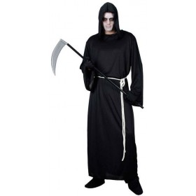 Men'S Classic Grim Reaper Halloween Fancy Dress Costume