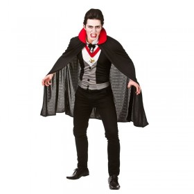 Mens Bloodthirsty Vampire Halloween Fancy Dress Costume