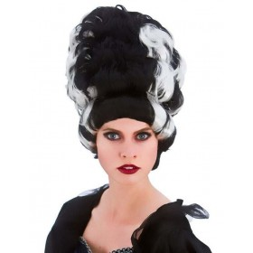 Ladies Wicked Queen Wig Halloween Fancy Dress Accessroy