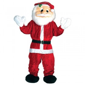 Santa Mascot Fancy Dress Costume (Christmas)