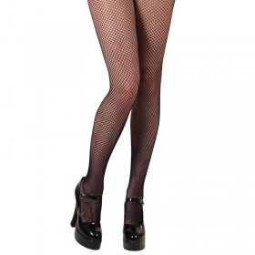 Fishnet Tights / Black - Fancy Dress Ladies