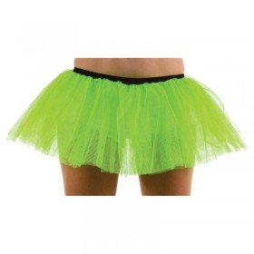 Club Tu Tu- Green - Fancy Dress Ladies