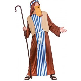 Mens Joseph Christmas Nativity Fancy Dress Costume