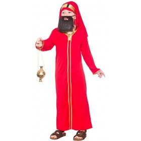 Childs Nativity Wise Man Balthazar Christmas Fancy Dress Costume