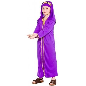 Childs Nativity Wise Man Melchior Christmas Fancy Dress Costume