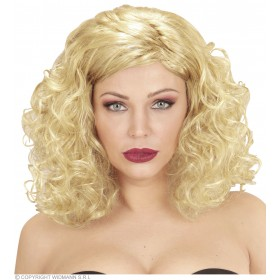 Natasha Wig Boxed 3Cols - Fancy Dress