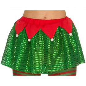 Deluxe Sequined Elf Tutu Accessory