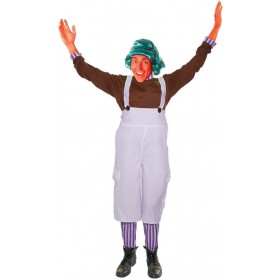 Chocolate Factory Worker Fancy Dress Costume