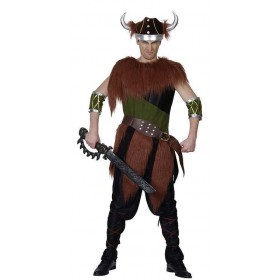 Viking Man Fancy Dress Costume