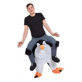 Penguin Piggy Back Fancy Dress Costume